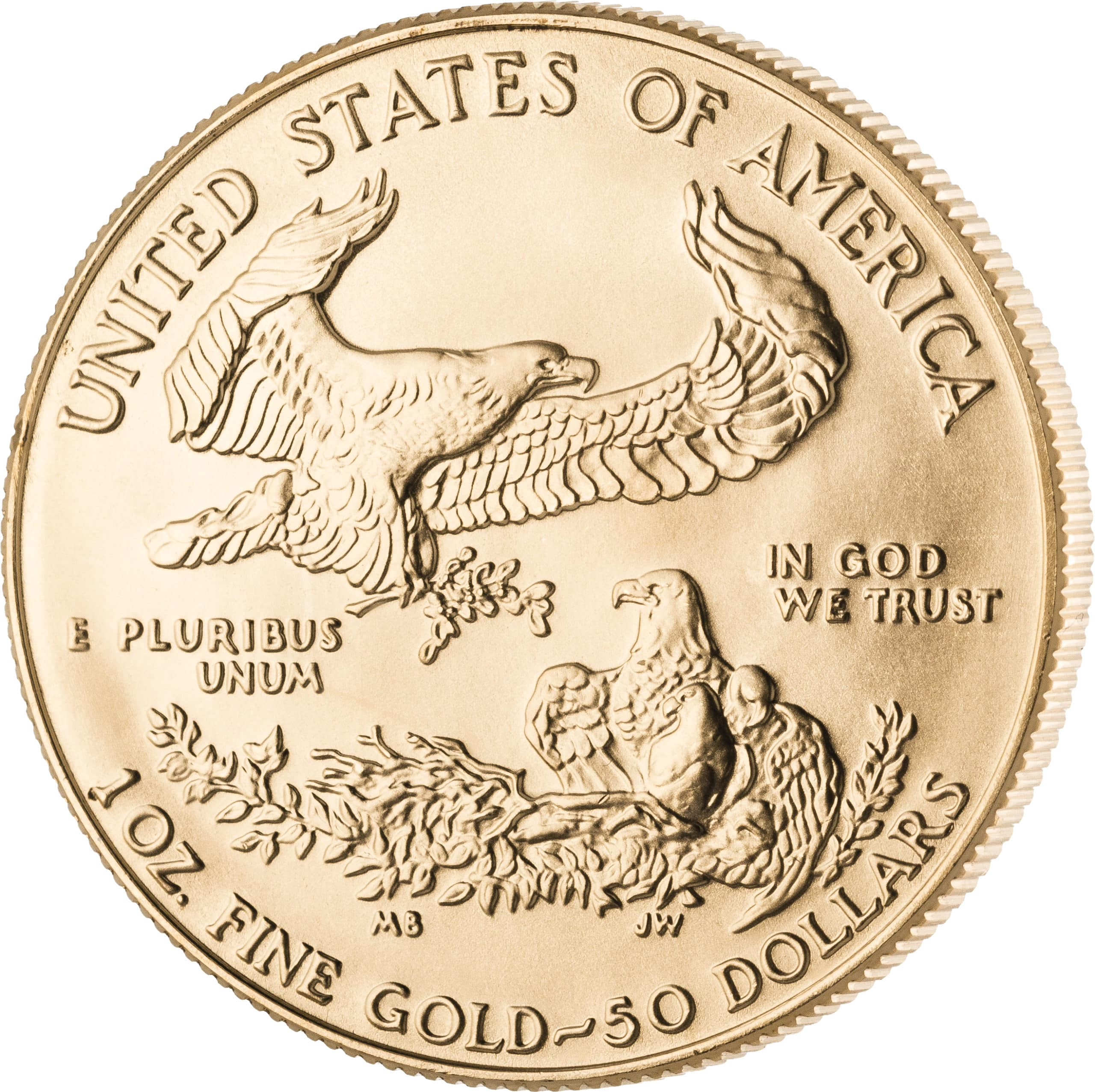 1 Unze American Eagle Goldmünze Vorderseite