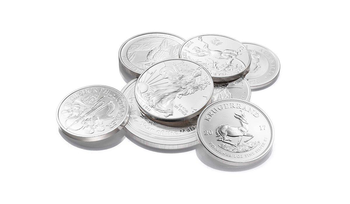 Silbermünzen als Zahlungsmittel