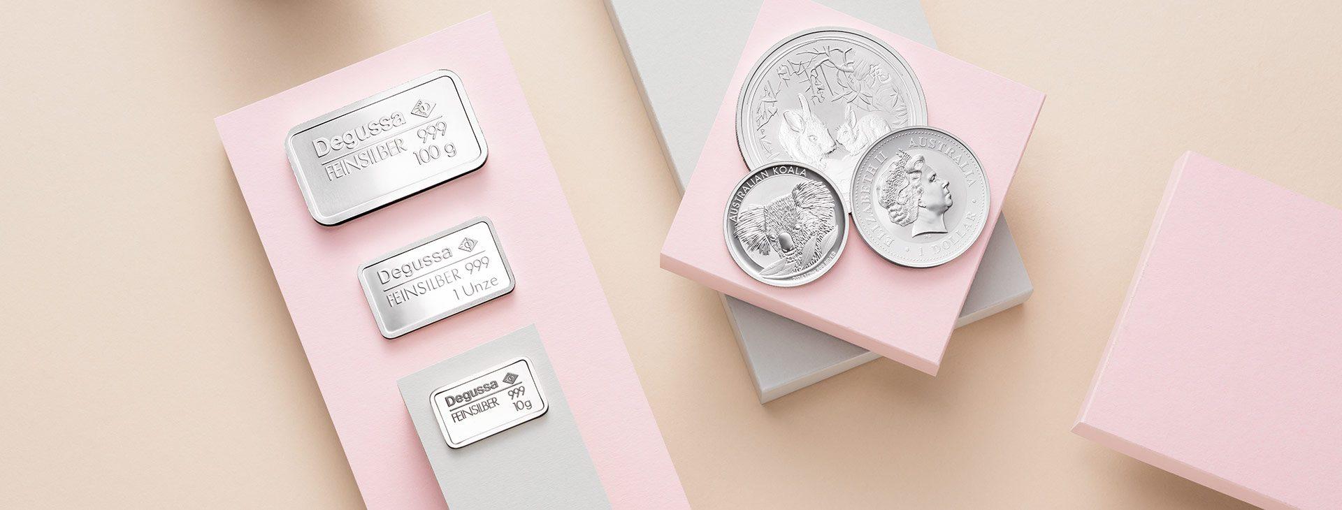 Silberverkauf