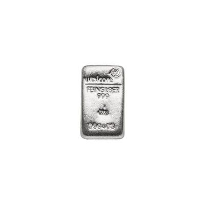 500g Silberbarren Umicore Vorderseite