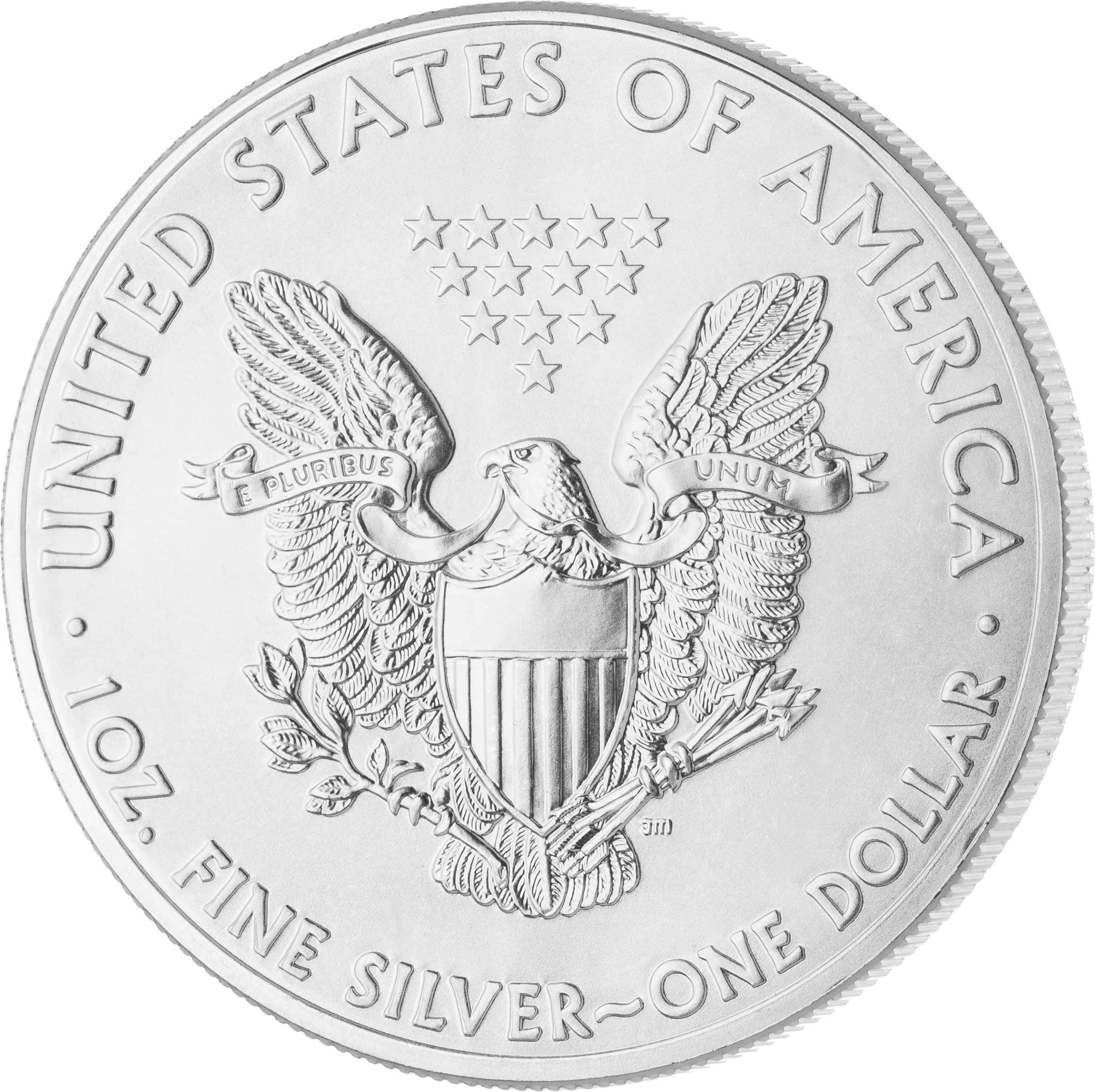 1 Unze American Eagle Silbermünze Vorderseite