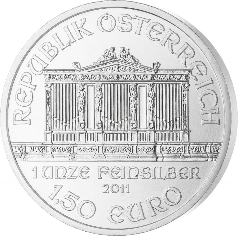 Wiener-Philharmoniker-Silbermünze-–-Neuware