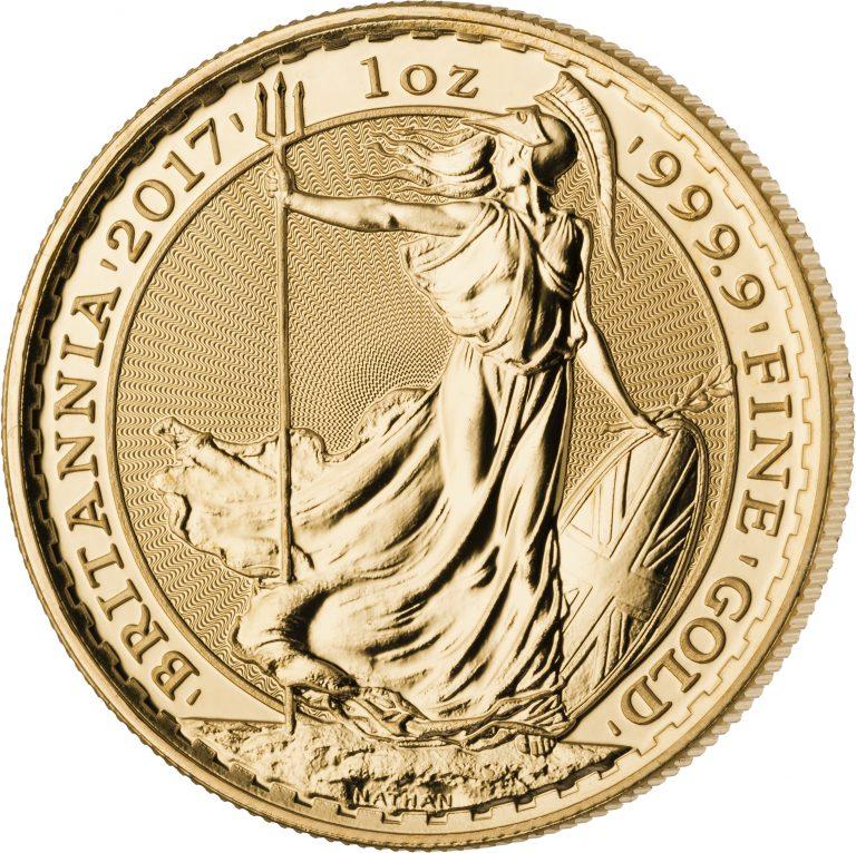 Britannia-Goldmünze