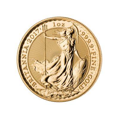 1 Unze Britannia Goldmünze Vorderseite
