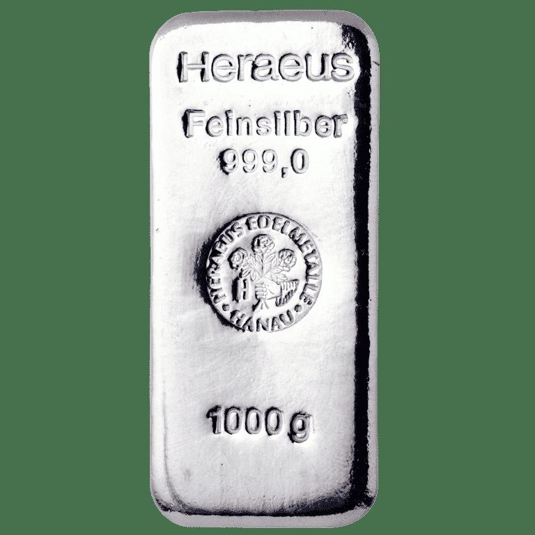 Silberbarren-–-1000g