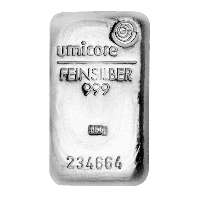 Silberbarren-–-500g