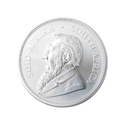1 Unze Krügerrand Silbermünze Rückseite